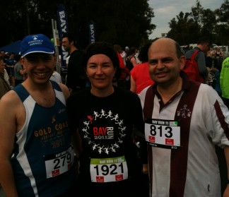 Bay Run 2011, Steve, Crystal & Anthony