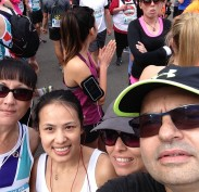 Team Wairoa selfie at the start