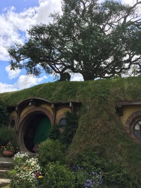 Bag End and the unreal tree of Hobbiton