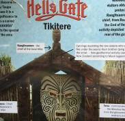 Hell's Gate and Ruaumoko god of volcanos