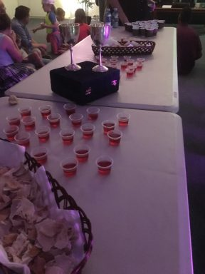 Simple Passover Easter Communion
