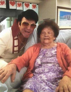 Mum and Elvis