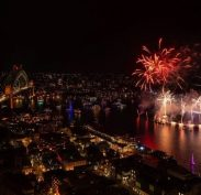 Fireworks Australia Day - Covid style - no crowds (Credit: NSW Govt)