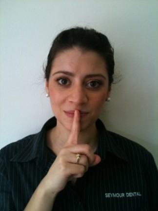Shhh - Mum's the word!