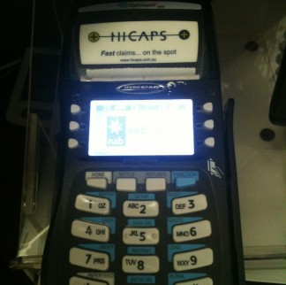 Hicaps and EFTPOS terminal