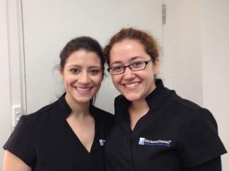 Rebecca and Dilara