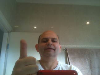 ... and back from Hell - after shave and long shower