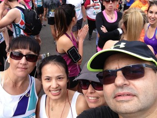 Team Wairoa selfie at the start