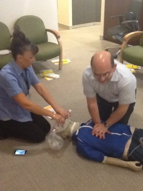 Refresher first aid course on George