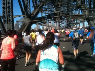 Blackmores Harbour Bridge Run for 18th Sept 2016