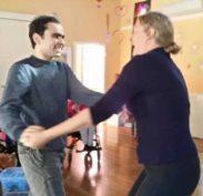 James at his happiest enjoying dancing and music at Miroma