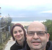 Katka and the man at South Maroubra