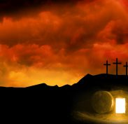 Easter - the Cross and He has Risen