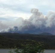Bush Fires in the Blue Mountains