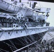 Anzacs on a troop carrier